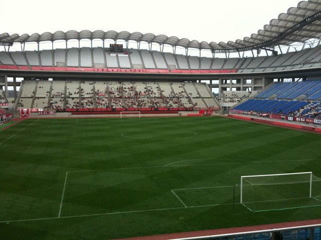 Photo:茨城県立カシマサッカースタジアム By hiro.qli