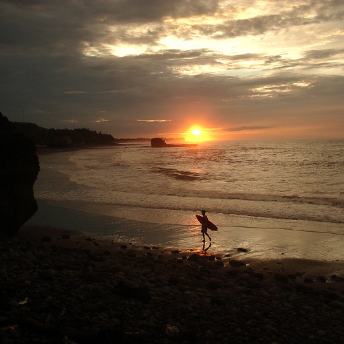 beach sunrise surf playa elsalvador the4elements elsunzal