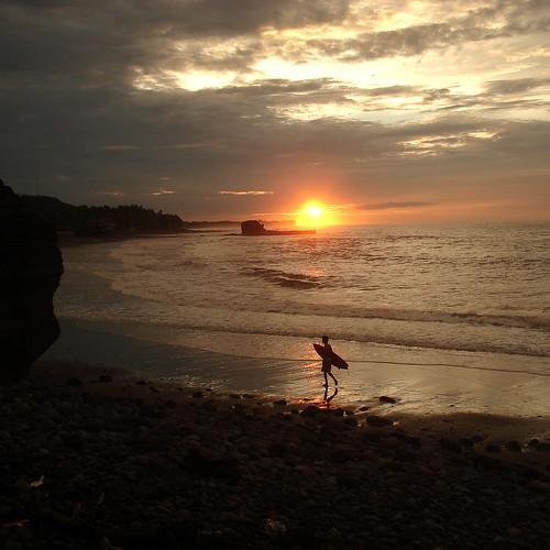 beach sunrise surf playa elsalvador the4elements elsunzal