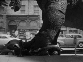 The Beast from 20000 Fathoms_1953_Ray Harryhausen_Dynamation_SlowMotion_loop