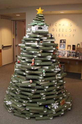 Tree constructed from books