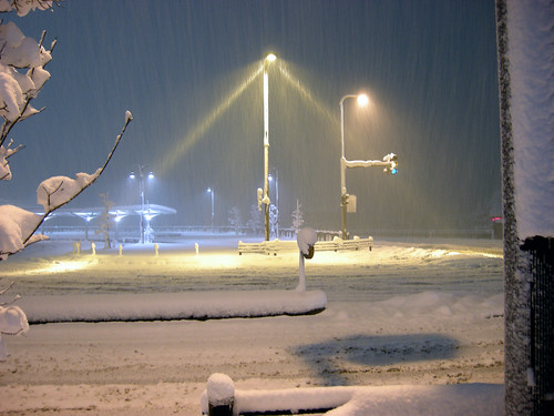 winter snow landscape nightview 夜景 雪 冬 yamagata 風景 山形 yonezawa 米沢