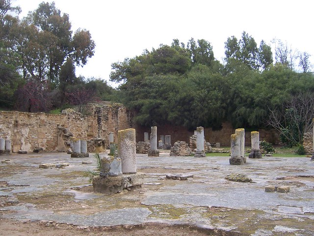 Carthage / Baths of Antoninus Pius