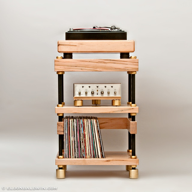 Samson turntable stand 6673 flickr photo sharing for Meuble audio ikea