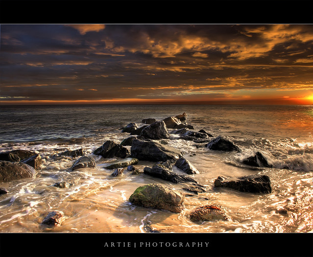 The Sea of Fire (II) :: HDR