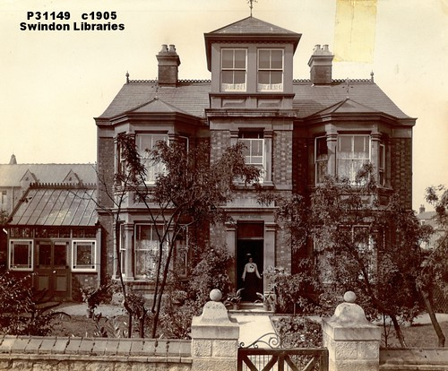c1905: Olive House at No.11 Prospect Place, Swindon