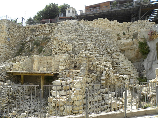 10th Century Stepped Stone Structure And 7th Century