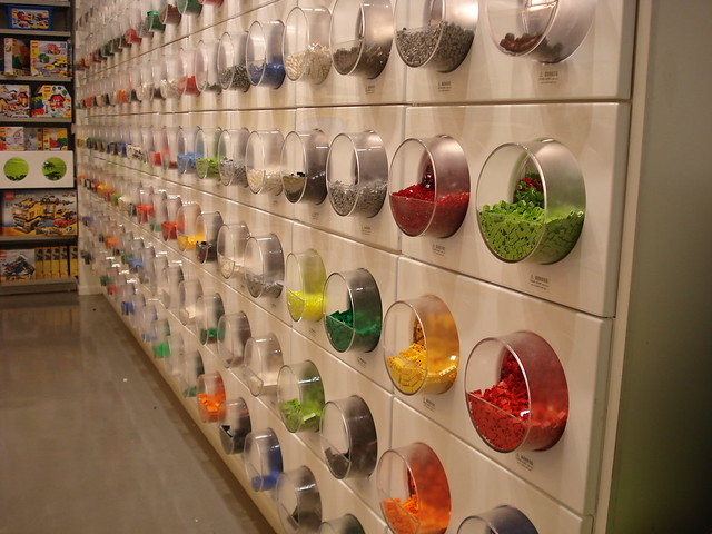LEGO Store, August 4, 2009 - PaB wall