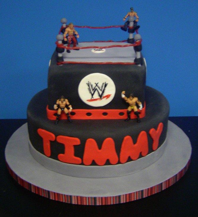 Wrestling Birthday Cake A Photo On Flickriver