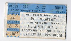 Paul McCartney May 19, 1993