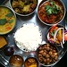 Small photo of The afore mentioned delicious thali. Yum!