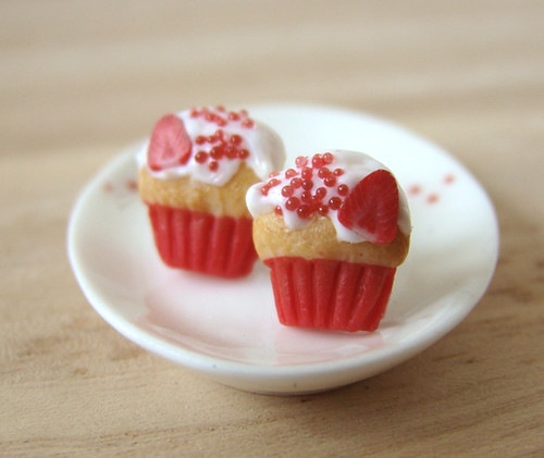 Strawberry Love Cupcake