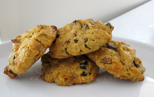 savory sweet potato cookies
