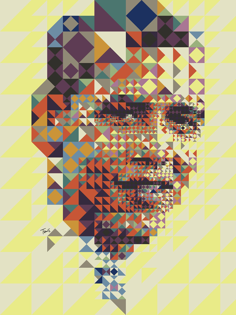 Barack Obama: A colorful (almost African) portrait