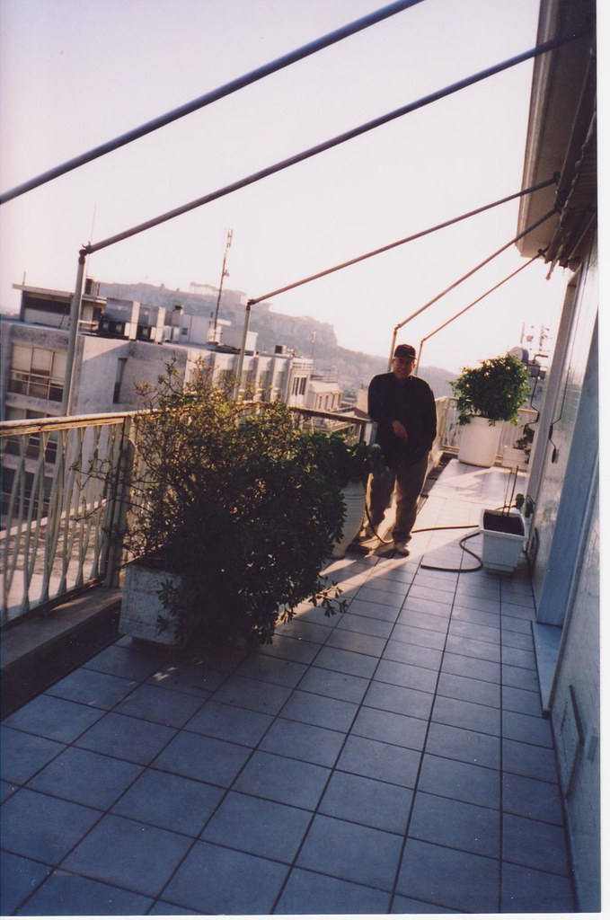 Me at Hotel - Athens