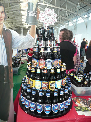 First bay area holiday fest a good start brookston beer for How to make a beer bottle christmas tree