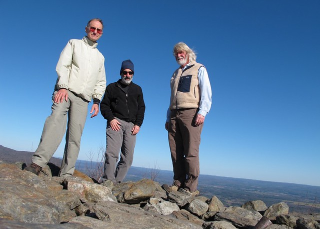 Loren, Richard and David on Bear Mountain
