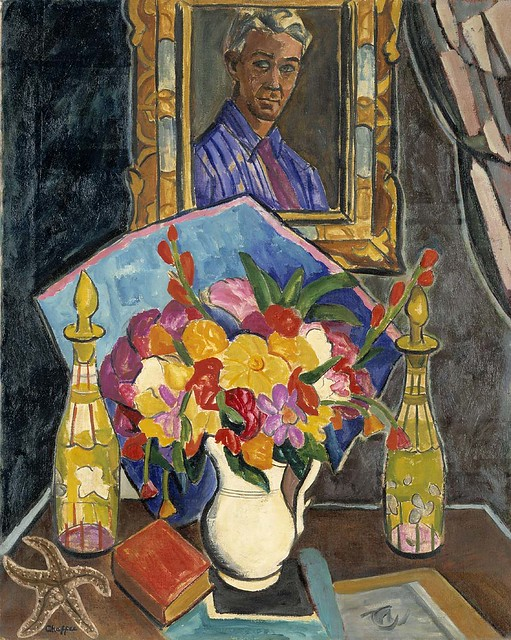 Myself in the Mirror ca. 1926 Oliver Chaffee Born- Detroit, Michigan 1881 Died- Asheville, North Carolina 1944 oil on canvas 36 x 29 in. (91.4 x 73.6 cm) Smithsonian American Art Museum