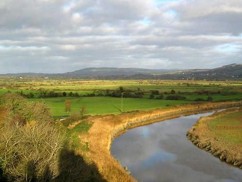 ireland castles rivers bunrattycastle bunratty coclare irishcountryside northeastview topofthecastle riverowengarney