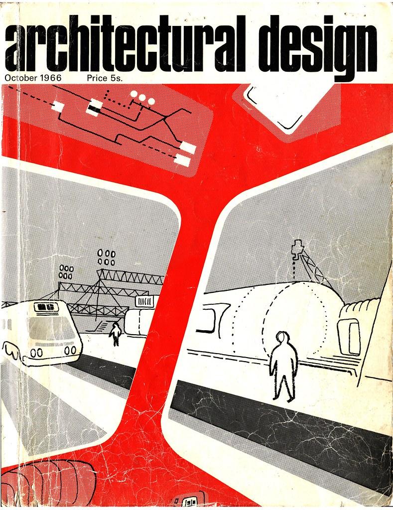 Cedric Price: Potteries Thinkbelt - Magazine cover