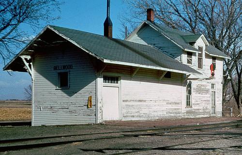 cbq depot station railroad bellwood chz chuck zeiler