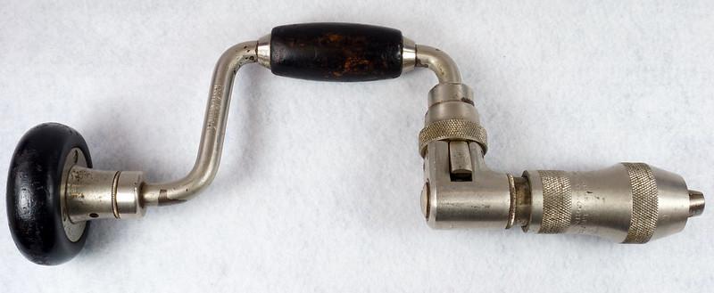 RD14631 Vintage Stanley Ratcheting Bit Brace Hand Drill x 3 - 6 DSC08860