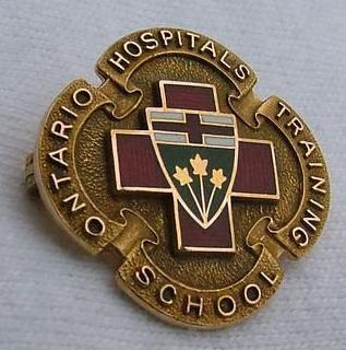 Ontario Hospitals Training School for Nurses Graduation ...  |Nursing Graduation Pins