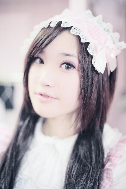 cosplay 萝莉-女仆