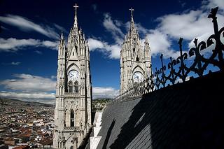 Quito belltowers