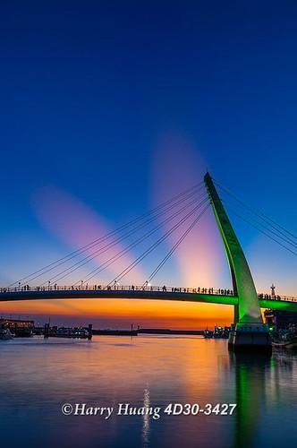 taiwan wharf 淡水 漁人碼頭 tamsui danshuei 圖庫 風景攝影 數位攝影 黃基峰 harryhuang 電子郵件hgf78354ms35hinetnet