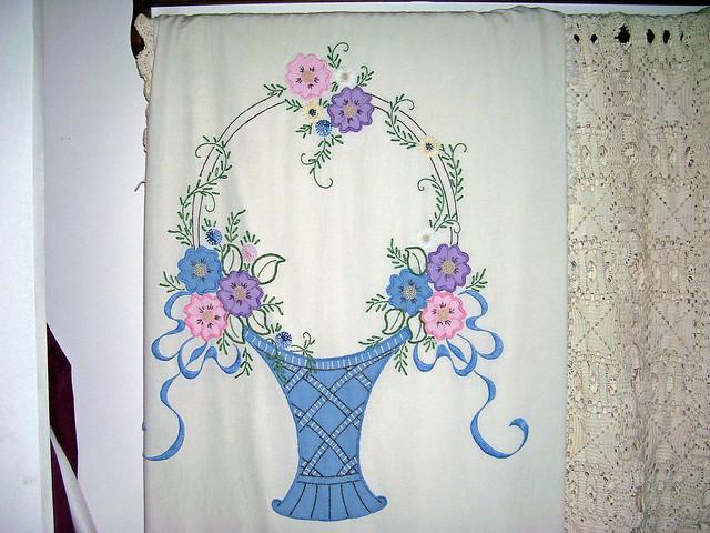 Hand crochet cotton thread bedspread by Hookysplace on Etsy