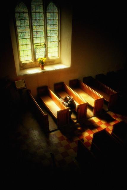 The lone prayer