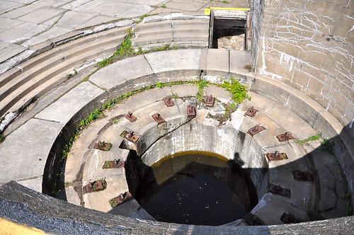 Down a big hole