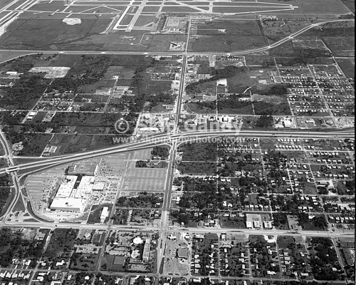 Aerial Shot Of Westshore And Tampa International Airport