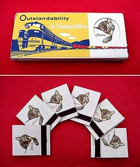 """Chessie"" Mascot Matchbooks"