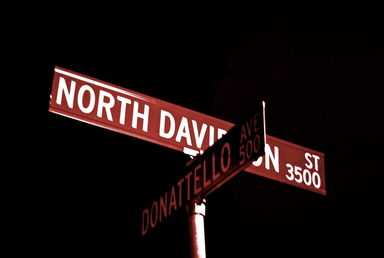 NoDa Sign