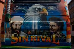 Bolivia - La Paz - Osama and Che