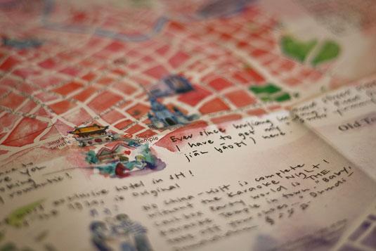 A la Carte Maps, Shanghai