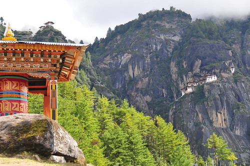 bhutan prayerwheel paro taktshanggoemba tigersnest