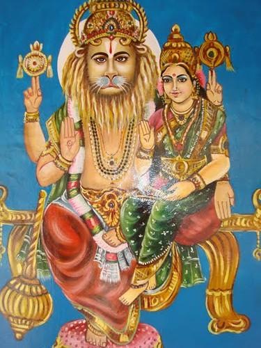 Painting Of Lakshmi Narasimha Swamy Painting Of Lakshmi Na Flickr
