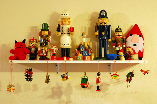 holiday shelf