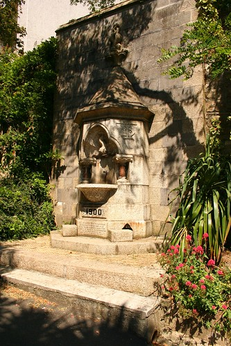 Drinking Fountain, Victoria Gardens, Truro by Stocker Images