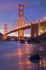 Marshall's Beach Golden Gate Bridge California