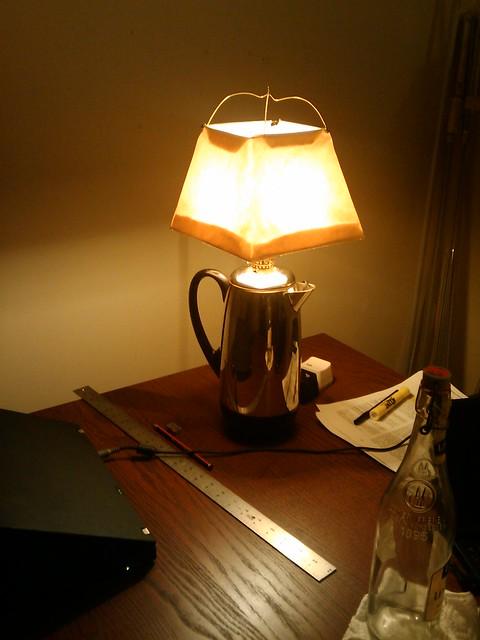 Percolator Lamp