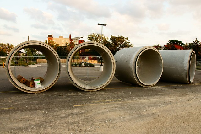 University of Windsor Service Tunnel Construction