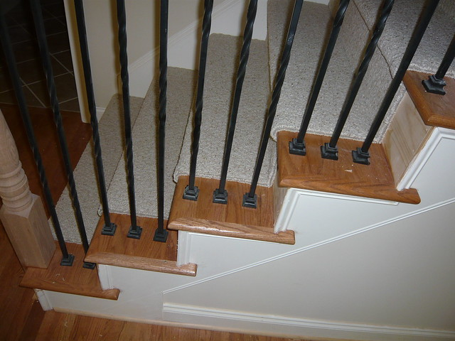side view of attic stairs with carpet flickr photo sharing. Black Bedroom Furniture Sets. Home Design Ideas