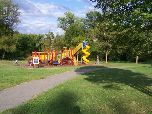 Playground abutting the Northwest Branch Trail, Prince George's County