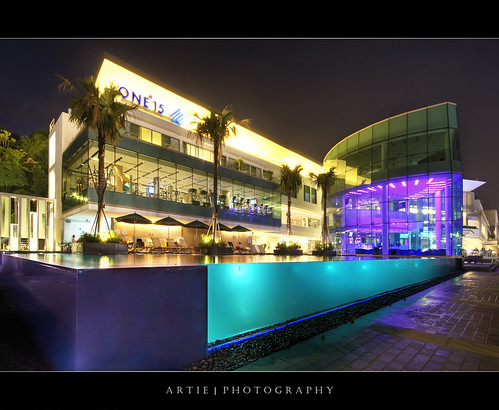 ONE°15 Marina Club, Sentosa, Singapore :: HDR