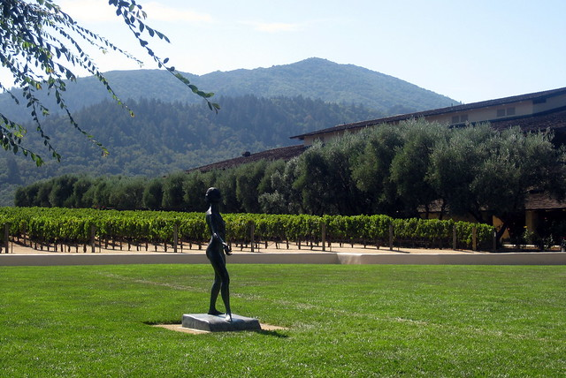 California - Oakville: Robert Mondavi Winery - Figurative of a Woman