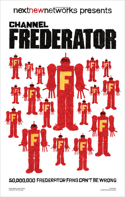 Channel Frederator [Next New Networks Poster Series 1]
